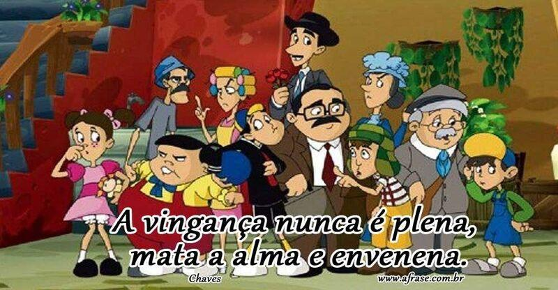 Turma do chaves.