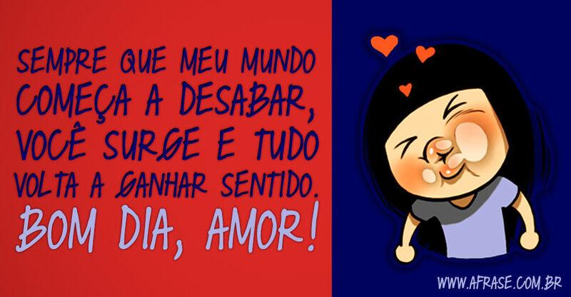 Tag Frases De Bom Dia Minha Vida Meu Amor