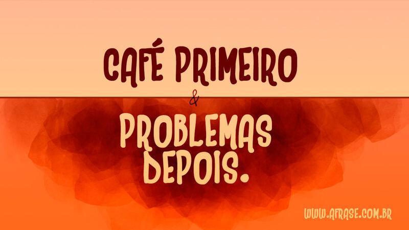 Favoritos A Frase - Um bom café LK67