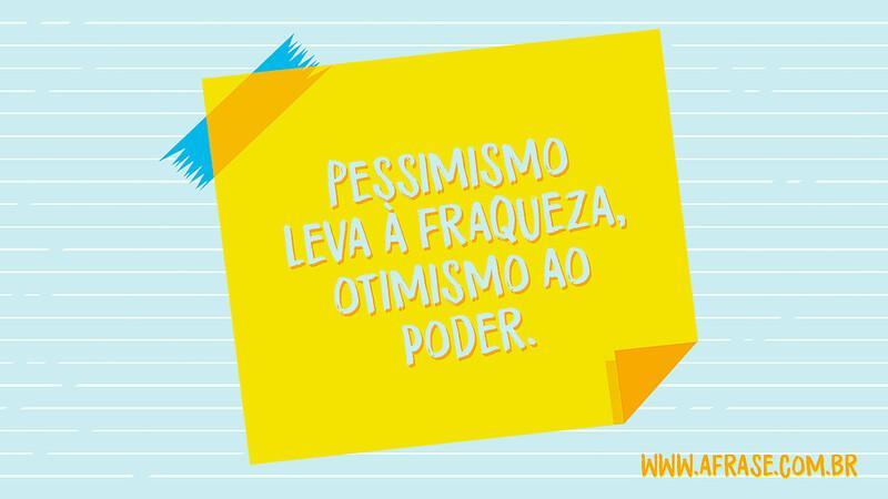 50 Frases Otimismo E Pessimismo: Pessimismo