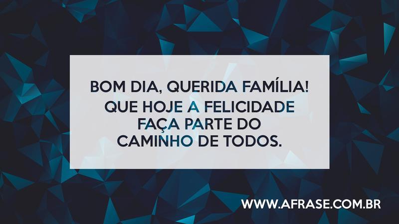 Bom Dia Familia: Bom Dia, Querida Família